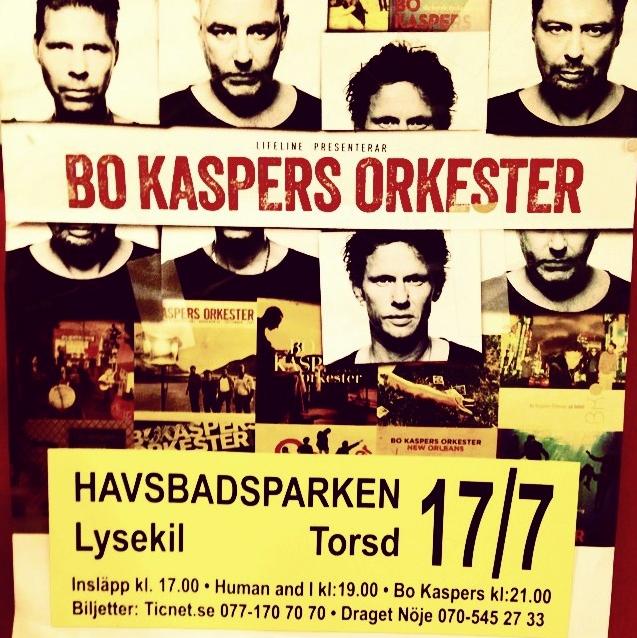 Human and i – förband till Bo Kaspers Orkester